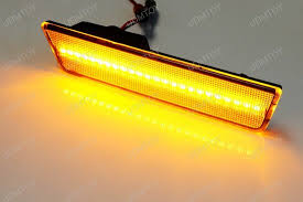 led side marker lights dodge challenger front side marker ls with amber led lights