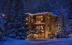 luxury nature trees forest architecture colorado usa