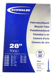 chambre a air 700 23c schwalbe x light xxlong sv 20 inner 700c 28 for presta