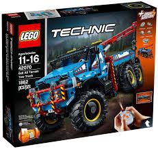 porsche 919 lego lego technic 42070 la dépanneuse tout terrain 6x6 lego technic