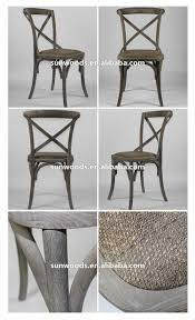 X Back Bistro Chair Bistro Style Dining Side Chair Oak Wood X Back Chair Buy