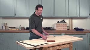2 gluing and clamping a butcher block top mov youtube