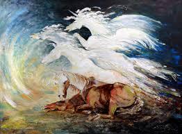 paint dream samuel duke artwork the dream to become a unicorn original