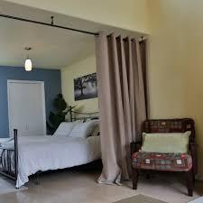 bedroom divider curtains roomdividersnow premium heavyweight room divider curtain mocha