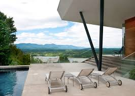 Frank Gehry Outdoor Furniture by Cedar Clad House On Mt Merino Boasts Breathtaking Views Into The