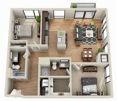 3d 2 bedroom apartment floor plans yahoo image search results