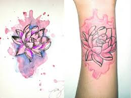 watercolor lotus tattoo 47 best tat images on pinterest lotus flowers crown tattoo