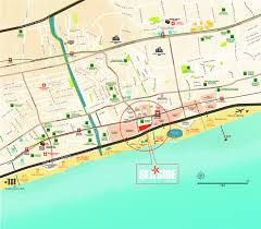 project information seaside residences seaside residences location map