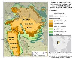Montana River Map by Williston And Powder River Basins Groundwater Availability Usgs