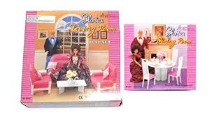 Barbie Dining Room Set New Barbie Gloria Doll House Furniture Set Of 2 Living And