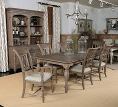 Rectangle Dining Room Sets Kincaid Weatherford Canterbury Rectangular Dining Table Set In