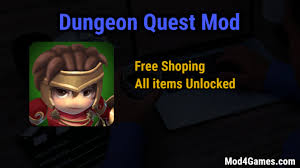 download game dungeon quest mod for android dungeon quest mod free shoping all items unlocked mod4games com