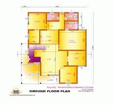 home design engineer stunning 2d elevation and floor plan of 2633 sqfeet kerala home