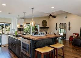 Unique Kitchen Island Ideas Unique Kitchen Island With Granite Top And Breakfast Bar Home
