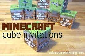 minecraft birthday invitations minecraft invitations jsapi info