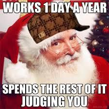 Funny Memes About Christmas - santa christmas funny meme funny memes