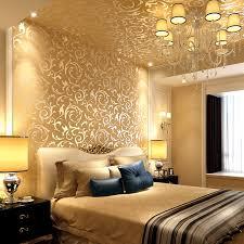 vliestapete schlafzimmer 0 53x10 meter luxus 3d gold blumen muster vliestapete wohnung