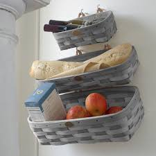 home decor wall home d礬cor wall storage basket set