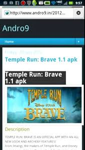 temple run brave 1 1 apk how to get temple run brave for free android