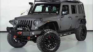 jeep gray wrangler 2015 jeep wrangler unlimited sport kevlar coated lifted custom