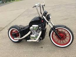1995 honda nv400 custom chopper bobber recently auctioned and