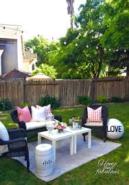 Backyard Accessories Garden Stool And Accessories From Homegoods Make This Patio More