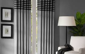 Home Office Curtains Ideas Curtains Cool Grey Curtain Ideas For Large Windows Modern Home