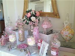 Flower Table L Wedding Buffet In Pink Buffets L Sweetie Tables L