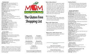 gluten free food list printable recipes food