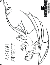 night fury coloring page how to train your dragon coloring page