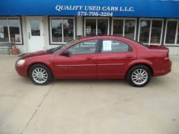 2001 chrysler sebring lxi quality used cars llc 1301 s oak st