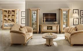 Tv Set Furniture Classic Living Room Melodia Arredoclassic