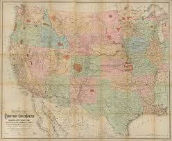 Map Of Pacific Ocean National Map Of The Territory Of The United States From The