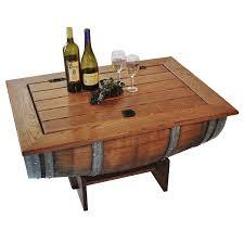 Wine Barrel Home Decor Wine Barrel Coffee Table Best In Home Decor Ideas With Wine Barrel