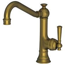 newport brass kitchen faucet faucet com 2470 5303 06 in antique brass by newport brass