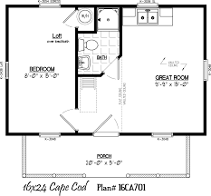 Cape Home Plans by 16 U0027 X 24 U0027 With 5 U0027 X 20 U0027 Porch Cabin Fever Pinterest Porch