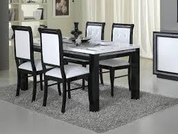 table a manger pas cher avec chaise chaise de salle à manger design et blanche lot de 2 doria