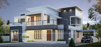 New Contemporary Home Designs In Kerala Wonderful Contemporary Inspired Kerala Home Design Plans Amazing
