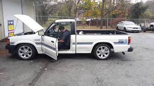 mazda pickup mazda b2200 5 3 vortec chevy swap 4l60 youtube
