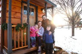Tiny House Living How Two Families Made It WorkTeenagers