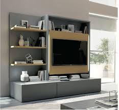 modular units tv wall unit with shelves ggregorio