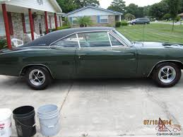 1968 dodge charger green not clone 1968 dodge charger r t matching 440