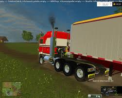2016 kenworth cabover kenworth k100 cabover v2 1 mod for farming simulator 2015