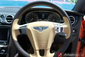 bentley steering wheel first impression and test drive review bentley continental gt s v8