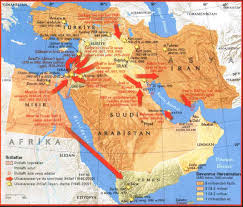 Map Middle East by Map Of Middle East Conflicts Map Of Middle East Interventions