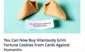 fortune cookies where to buy you can now buy hilariously grim fortune cookies from cards