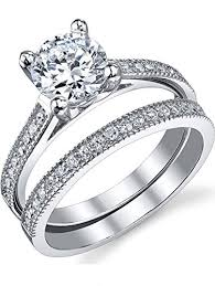 brilliant engagement rings images 1 25 carat round brilliant cubic zirconia sterling jpg