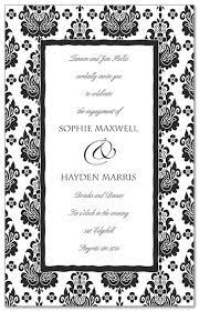 parisian black white invitation myexpression 10966