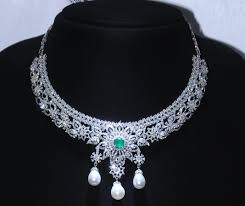silver necklace with stone images Types of necklaces every woman must own anextweb jpg
