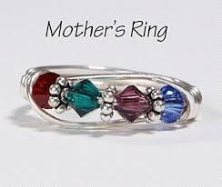 mothers birthstone rings 4 s birthstone ring personalized